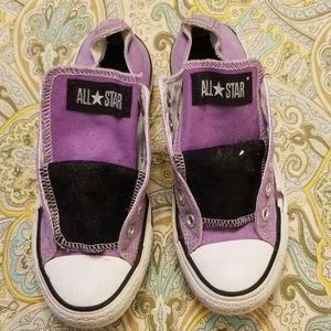 Violet Converse Fair Condition Double Tongue